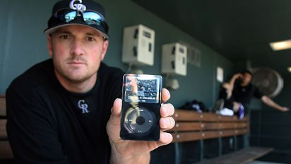 Source: ESPN. Jason Jennings and his iPod